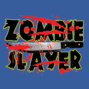 Zombie Slayer - Adult Fan Favorite Crew Sweatshirt Design