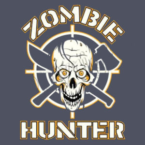 Zombie Hunter - Ladies Perfect Blend T Design