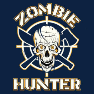 Zombie Hunter - Youth Fan Favorite T Design