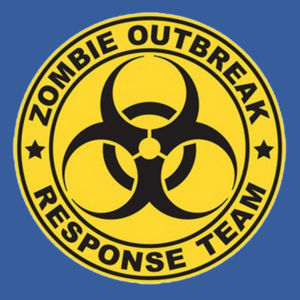 Zombie Response Team - Adult Fan Favorite Crew Sweatshirt Design