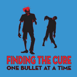 Finding The Cure - Ladies Perfect Blend T Design