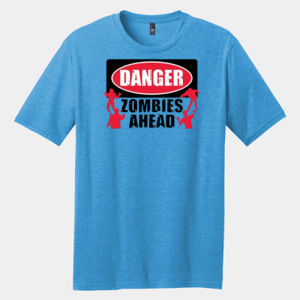 Zombies Ahead - Adult Premium Blend T Thumbnail