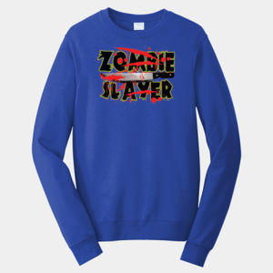 Zombie Slayer - Adult Fan Favorite Crew Sweatshirt Thumbnail