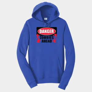 Zombies Ahead - Adult Fan Favorite Hooded Sweatshirt Thumbnail