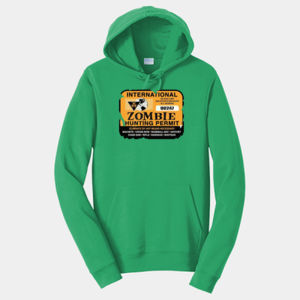 Zombie Hunting Permit - Adult Fan Favorite Hooded Sweatshirt Thumbnail