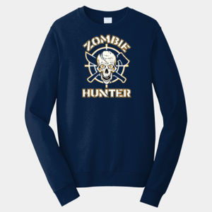 Zombie Hunter - Adult Fan Favorite Crew Sweatshirt Thumbnail