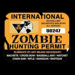 Zombie Hunting Permit Thumbnail